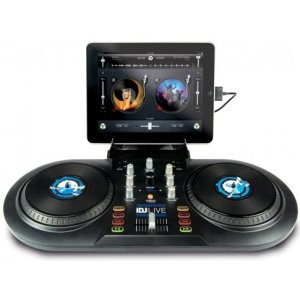 Numark iDJ Live DJ software controller for iPad
