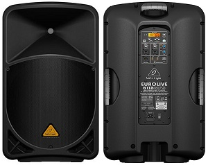 Behringer Eurolive B115D and B115MP3 Speakers