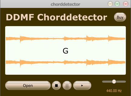 Chord Detector for Windows 7/Vista/XP