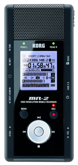 Korg MR2 Recorder