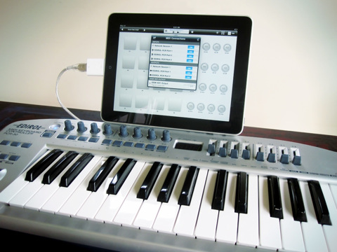 Midi Touch 2.0 for iPad