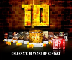 Kontakt 10th Anniversary 10-day Sale