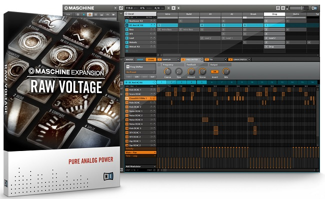 Raw Voltage Maschine Expansion