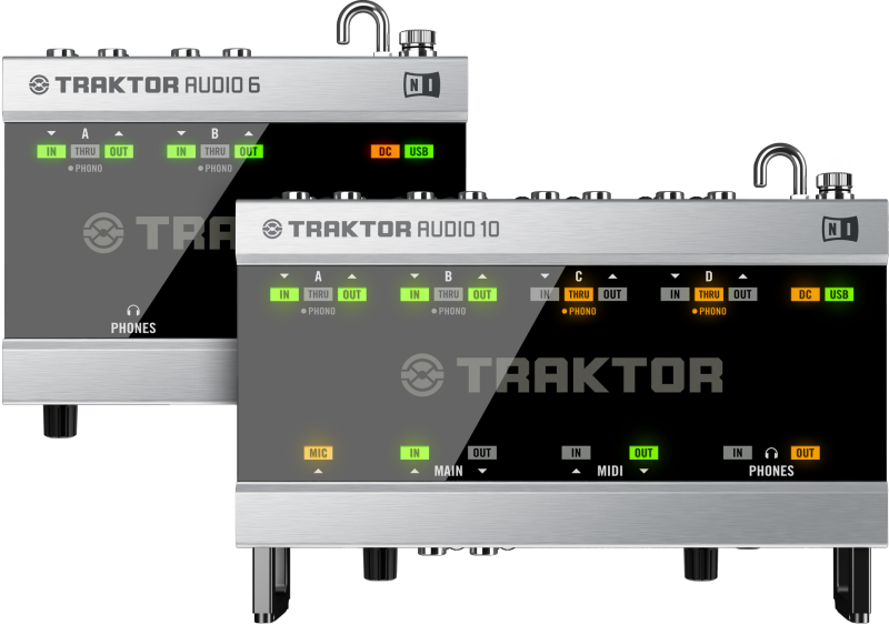 TRAKTOR AUDIO 6 and TRAKTOR AUDIO 10