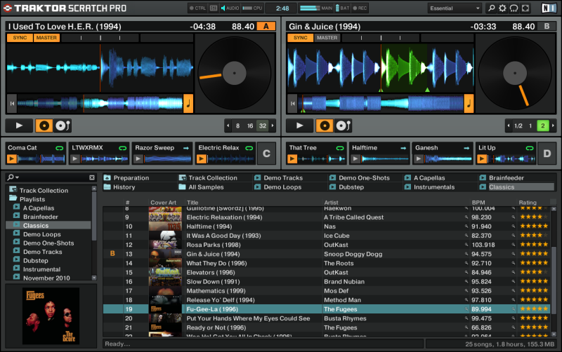TRAKTOR SCRATCH PRO 2 Screenshot