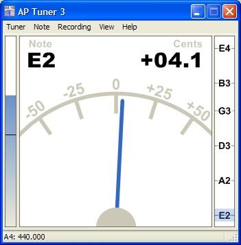 ap guitar tuner 3.08