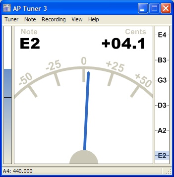 ap guitar tuner 1.02 gratuit