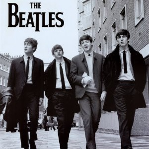 The Beatles (London Street) Poster