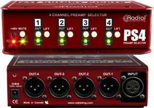 Radial Cherry Picker - Studio Preamp Selector
