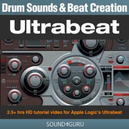 Drum Sound and Beat Creation video tutorial for Ultrabeat (Hitsquad)