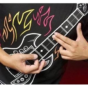 Electronic Guitar Shirt