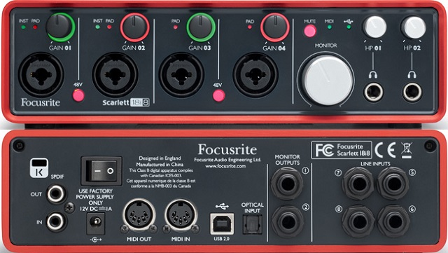 Best 24 Bit IOS Audio Interface for Live Guitar