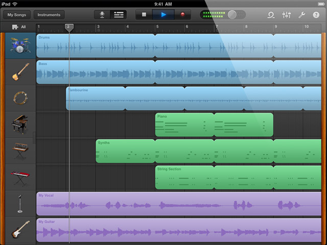 how to use imic in garageband
