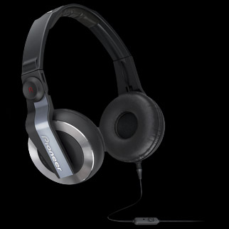 HDJ-500T-K Headphones from Pioneer