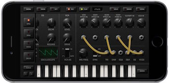 Korg iDS-10 Synthesizer App