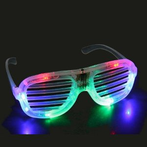 Light up LED Shutter Shades
