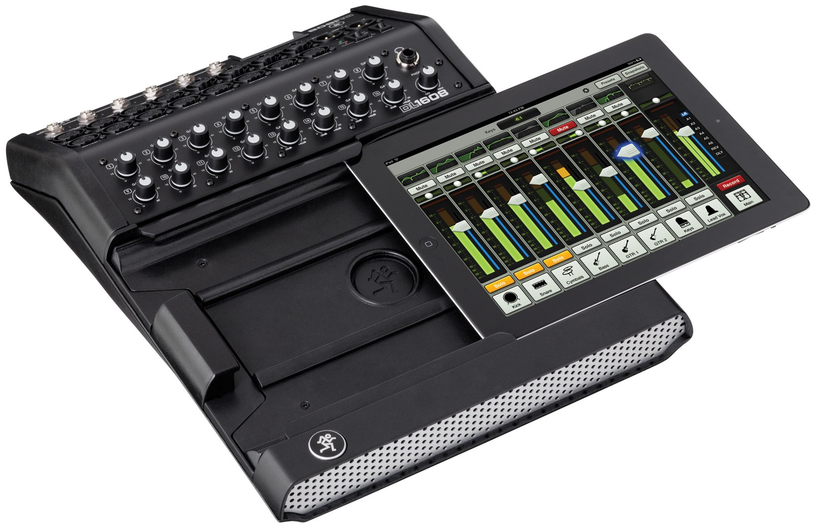 Mackie Dl1608 Digital Mixer Now Shipping Hitsquad