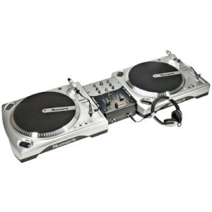 Numark Beginner Dj Turntable Package