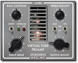 Studio Devil Virtual Tube Preamp Plugin