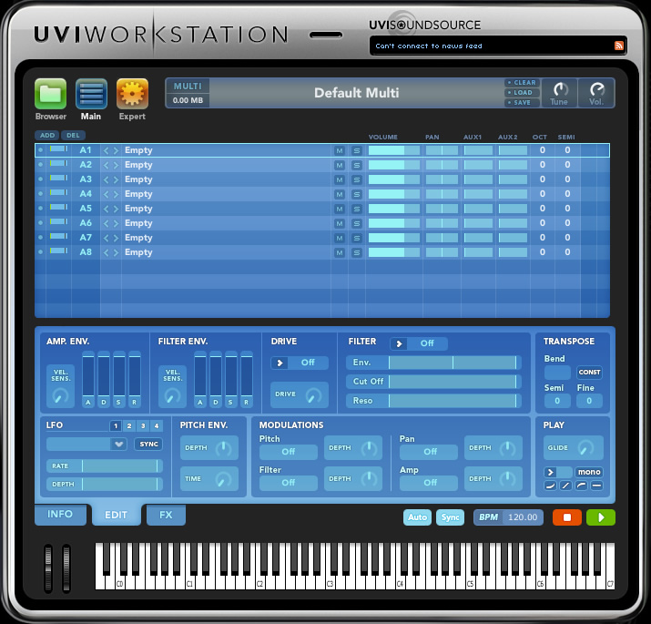 uvi workstation gratuit
